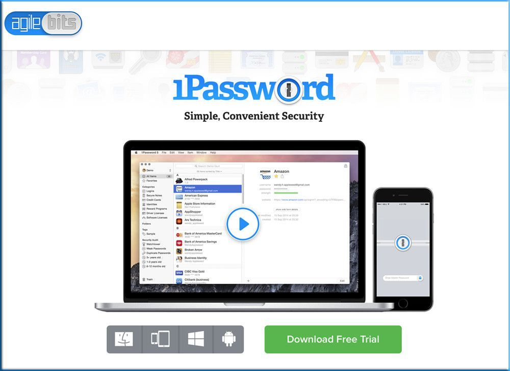 1password seguridad plataforma stedica