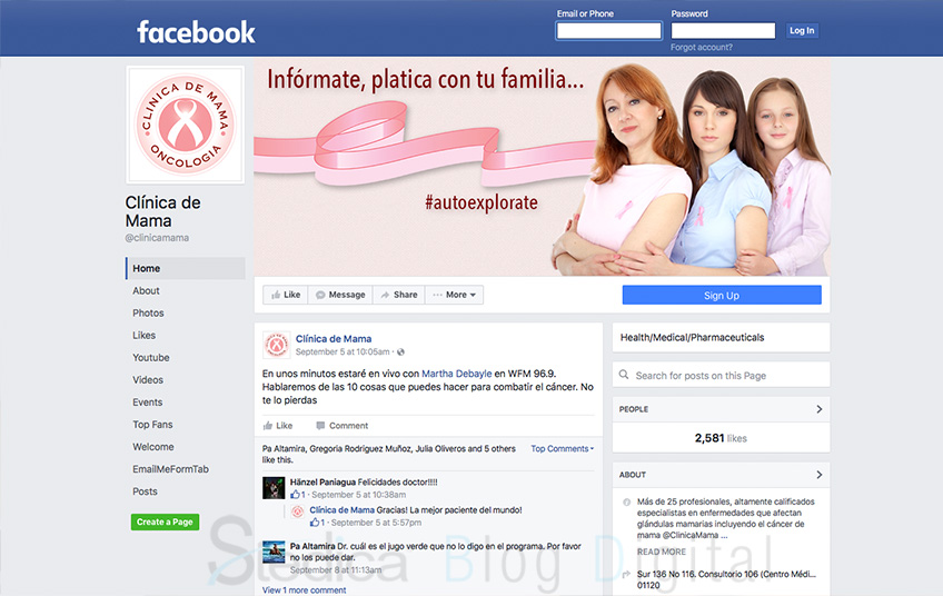 blog digital clinica de mama pyme