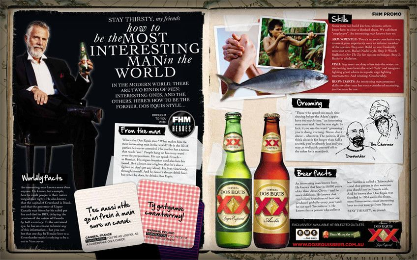 dos equis advertorial junio 2011