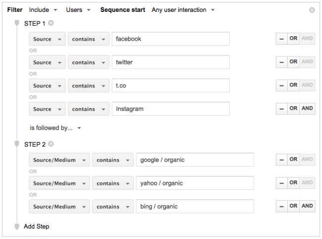 Segmentos Audiencia Google Analytics Segment Audience